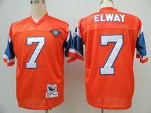 Men's #7 John Elway #30 Terrell Davis #27 Steve Atwater #84 Shannon Sharpe #49 Dennis Smith Mecklenburg Throwback Retro Jerseys!(China (Mainland))