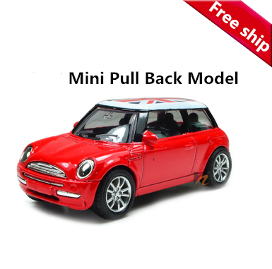 1:43 Mini Metal scale models car toy, Miniature model cars for kids baby toys Diecast pull back Union Jack cheap automobiles(China (Mainland))