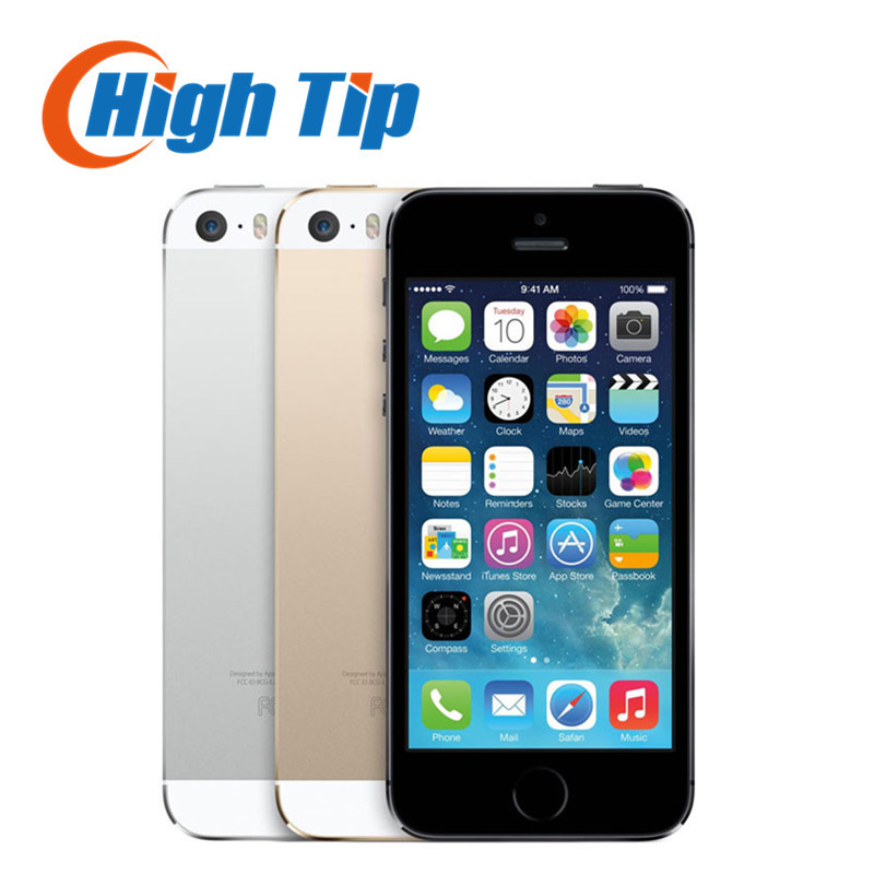 Sealed box Original Factory Unlocked apple iphone 5s phone 16GB/32GB/64GB ROM IOS GPS GPRS LTE Used Free Gift 1 year warranty(China (Mainland))