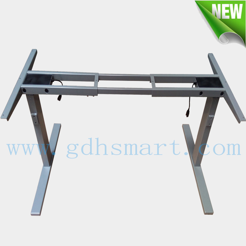 Ergonomic Commercial Furniture & height adjustable electric stand up table frame with 2 stage