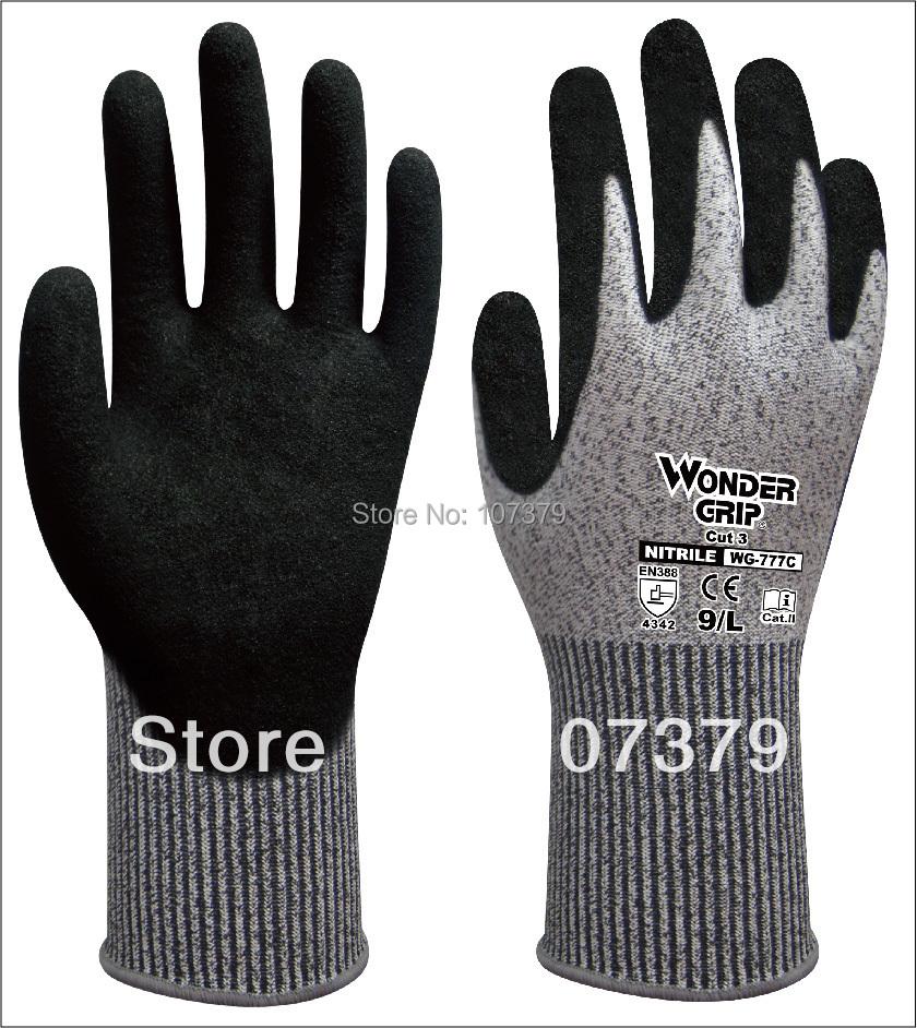 Здесь можно купить  Wonder Grip HPPE Anti Cut Work Gloves  Безопасность и защита