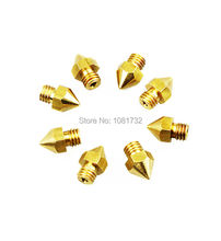 Hot Sale 1PCS Reprap Prusa i3 3D Printer 0 2mm Extruder Brass Nozzle Print Head for
