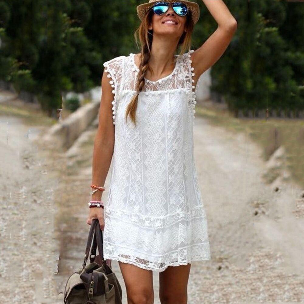 New Women Tassel White Lace Blouses Sexy Plus Size Crochet Lace Tops Women Blusa Renda Sleeveless Shirts(China (Mainland))
