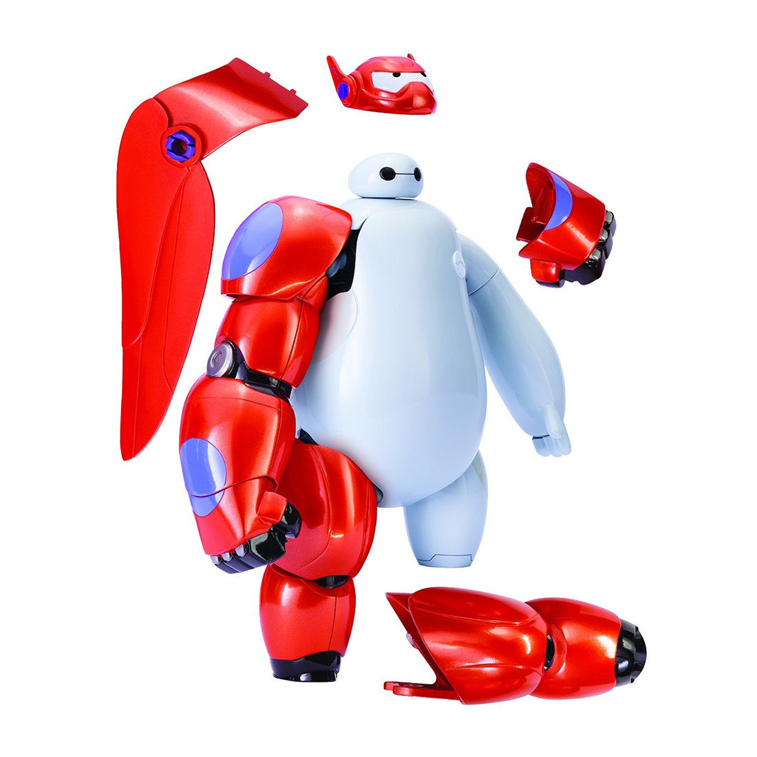 New Cute Creative Big Hero 6 Armor Up Baymax Deformable Robot Action Figure 20 parts Toy Fashion Gift(China (Mainland))