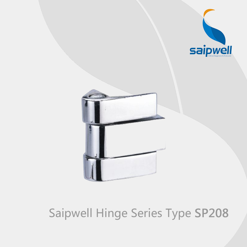Saipwell SP208 glass shower door hinges pivot zinc alloy door hinges specifications hinges for metal cabinet 10 Pcs in a Pack(China (Mainland))