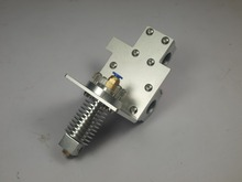 Reprap Mendel Prusa i3 3D printer parts X axis bowden feeding hot end X Metal exturder