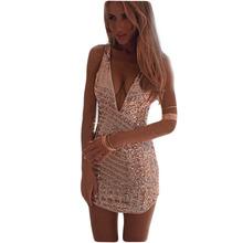 Estilo do verão Mulheres Sexy Vestidos de Festa Night Club Vestido Aliexpress2015Summer Lantejoulas Vestido de Emagrecimento Vestidos Mujer Vestidos C169