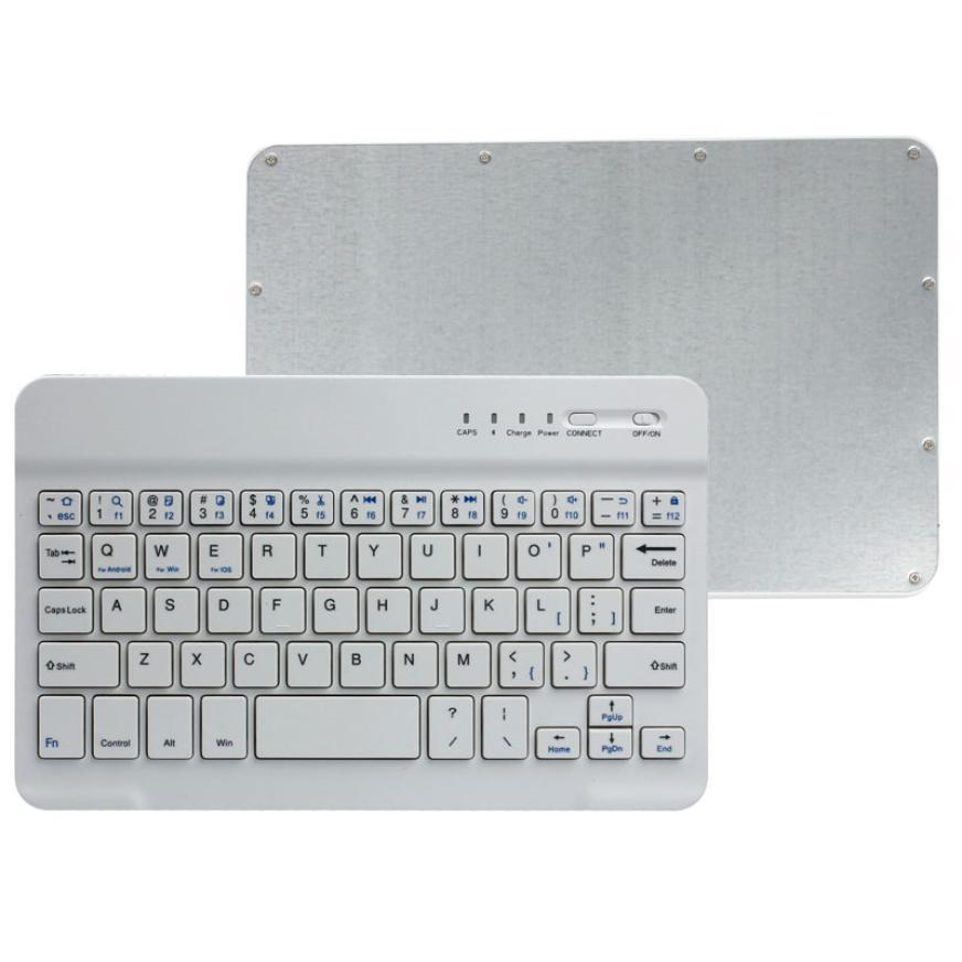 2017 DTIME Brand 7.9Inches Ultra Slim Aluminum Bluetooth Wireless Keyboard For IOS Android PC IPAD Pad Tablet Computer Keyboard(China (Mainland))