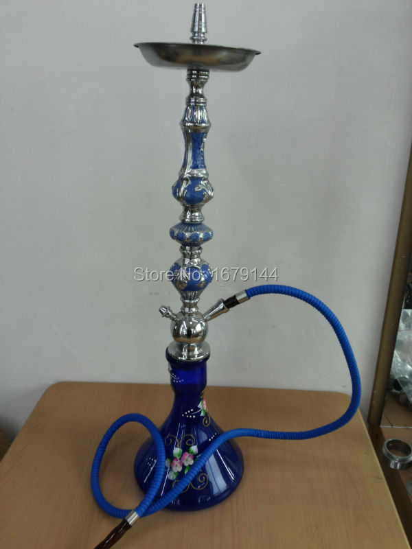 2015 new Factory directly sell wholesale big Zinc Alloy hookah shisha pipe 70CM/ Free Shipping aliceb-0047(China (Mainland))