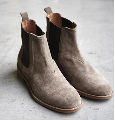 2016 NEW style kanye west Top quality 4 color euro 40-44 slp designer men shoes luxury brand Chelsea mens boots shoes(China (Mainland))