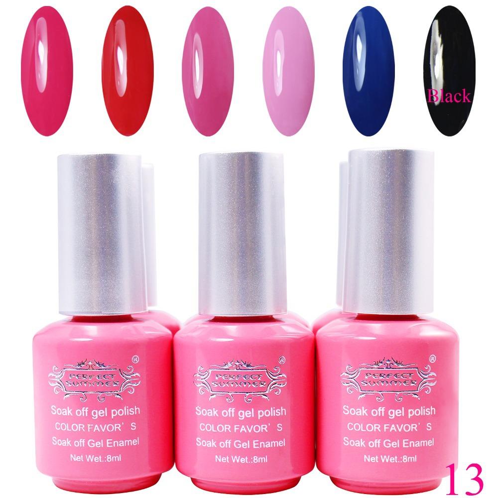 Perfect Summer Gel Nail Polish 8 ml UV Soak Professional Nails Art Lacquer - Store store
