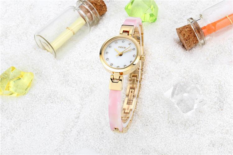 2016 Новый Золотые часы Дамы Женщины моды топ известная марка кварц relogio feminino женщины платье кварцевые наручные часы k1089