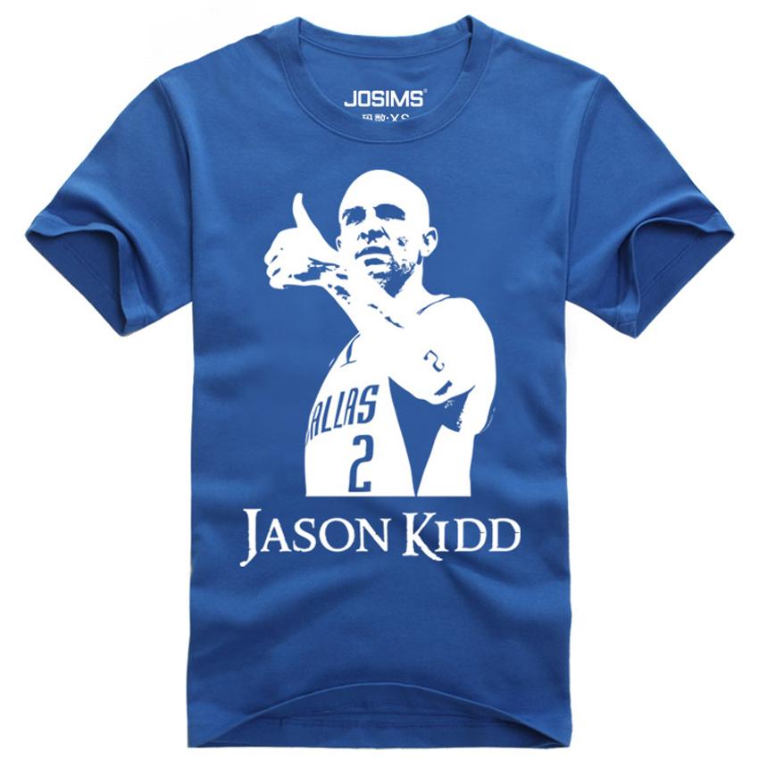 2016 Summer Mavericks Jason Frederick Kidd men's T-shirt basketball jersey for kids mens sports t-shirt child basketball t-shirt(China (Mainland))