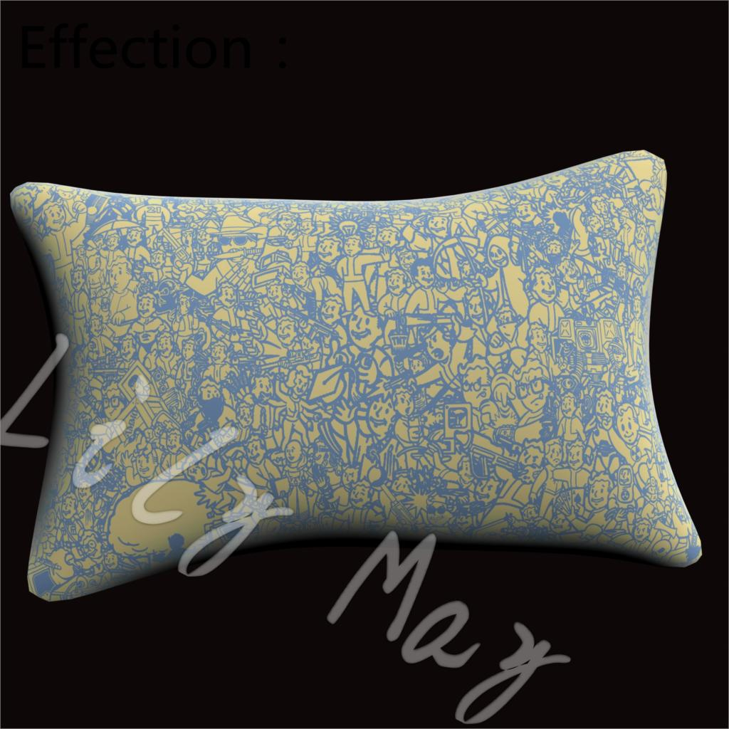 Fallout 4 boys dropshipping cotton polyester pillowcase for Decorative bed pillow case