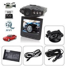 Motion Detection HD 720P Car DVR Vehicle Black Box with Night vision+2.5 Inch TFT Rotatable LCD Screen(China (Mainland))