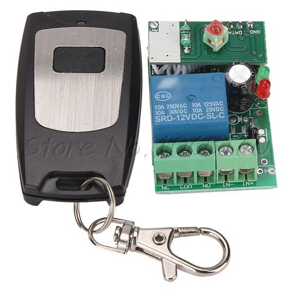 Wireless Remote Control 12V Control Electrical Equipment Switch Remote Module(China (Mainland))