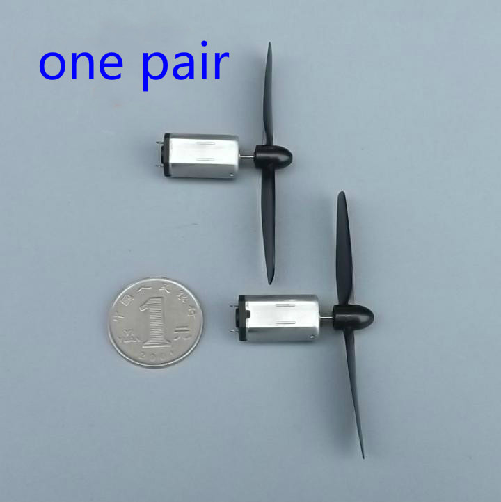 One pair 3.7v strong magnetic N30 motor for 4-axis aircraft glider or small glider(China (Mainland))