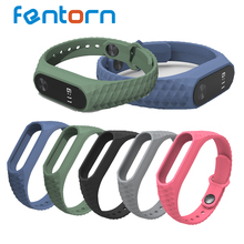 Buy Replace Strap Mi Band 2 Version MiBand 2 Silicone Wristbands Mi Band 2 Smart Bracelet 5 Color Xiao Mi Band 2 for $1.69 in AliExpress store