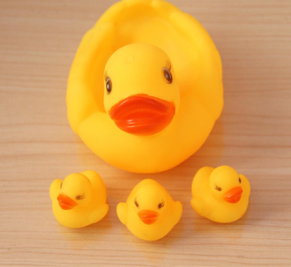 Rubber duck bathroom accessories