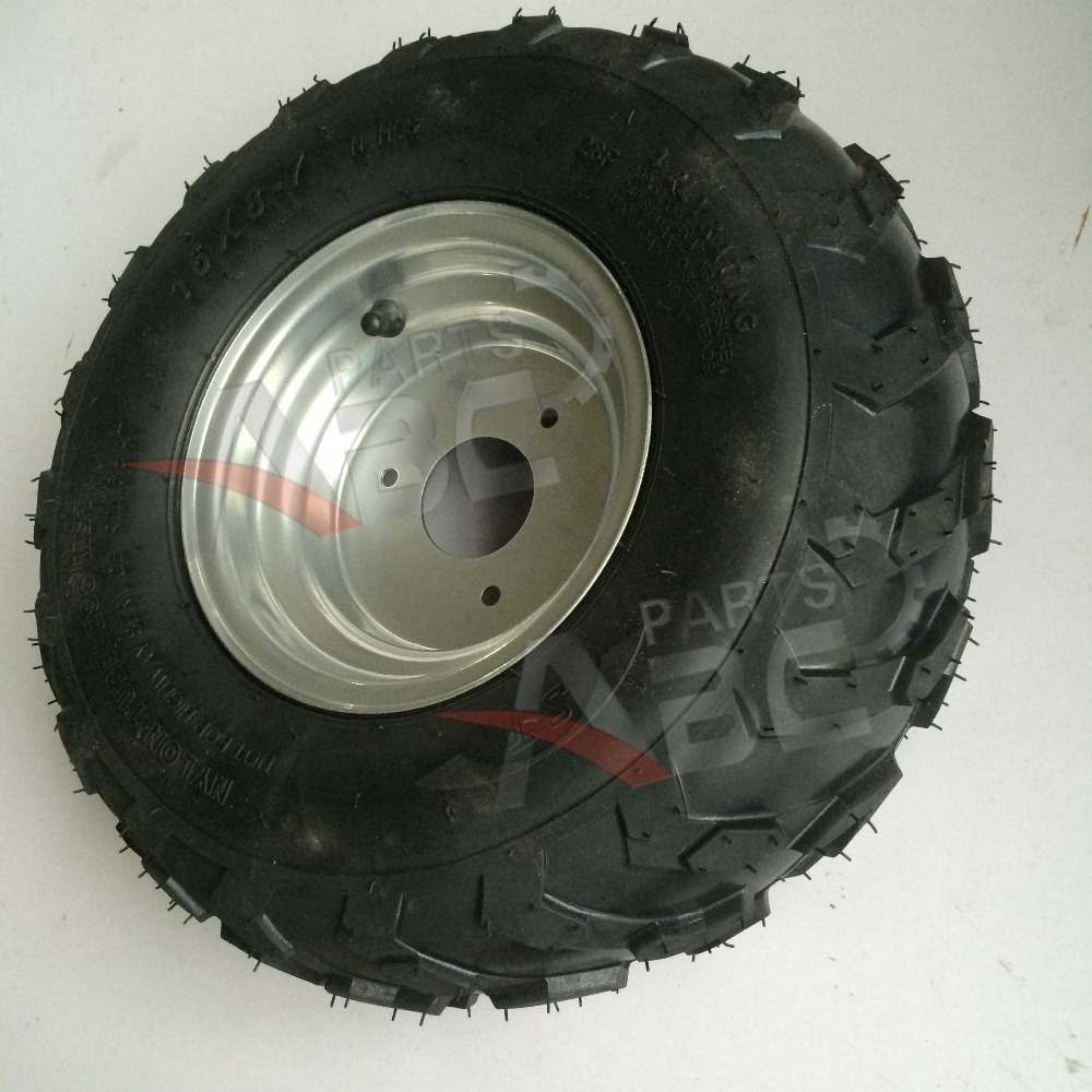 ATV Tire with Hub rim 16x8-7 For 50cc 70cc 90cc 110cc 125cc 250cc ATV Quad(China (Mainland))