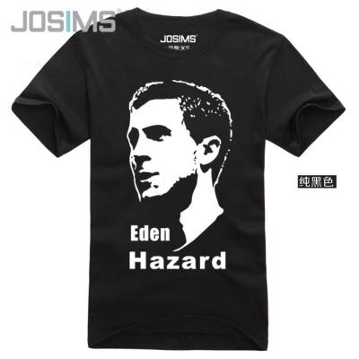2016 Chelsea Eden Hazrad Head portrait soccer jerseys survetement football jersey chelsea jersey kids marseille Pure cotton(China (Mainland))