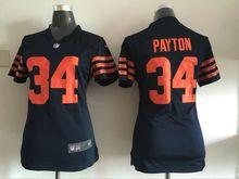 100% stitched WOMEN Chicago Bears ladies 13 Kevin White 17 Alshon Jeffery 89 Mike Ditka 34 Walter Payton 22 Matt Forte(China (Mainland))