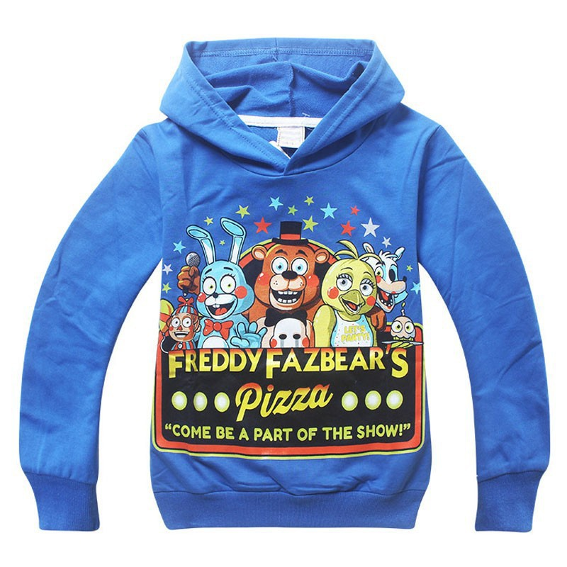 Retail 2015 New kids Five Nights at Freddys printed cartoon hoodies baby boys girls cotton sweatshirts children fashion hoodies<br><br>Aliexpress