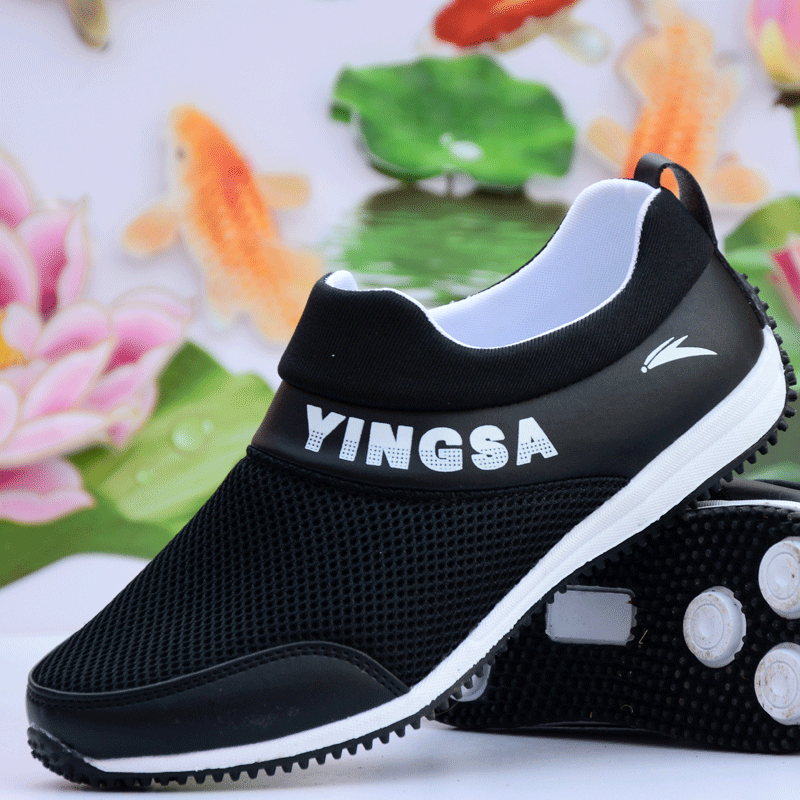 2014 summer solid color shoes network black sports