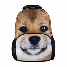 Buy Animal backpacking packs dog back pack teenagers high school backpacks girls cool bookbag college womens Travel bag for $29.99 in AliExpress store