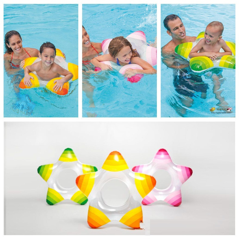 Intex Summer Inflatable Toddler Baby Swimming Ring Swim Ring Infant Swimming Pool Water Float