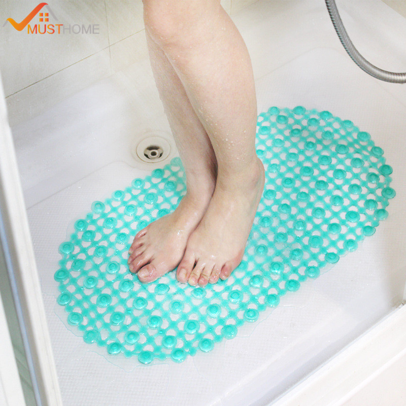 14.96*26.77in shower bathrub PVC bath mats for bathrooms(China (Mainland))