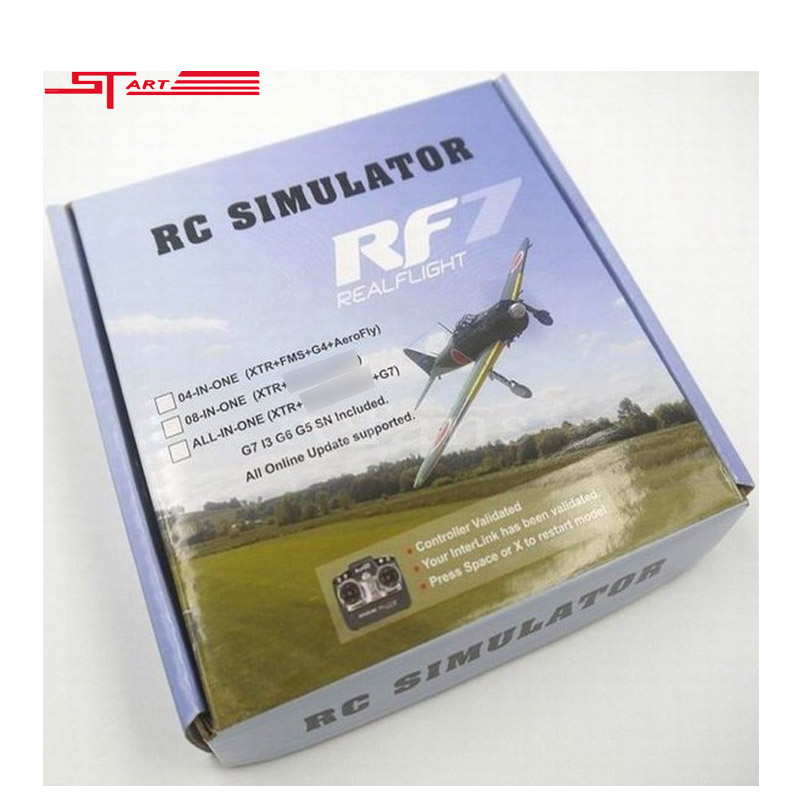Promotions 22 in 1 RC USB Flight Simulator G7 G6 G5.5 G5 Phoenix 5.0 Cable Real flight upgraded rc simulate helicopter quad(China (Mainland))