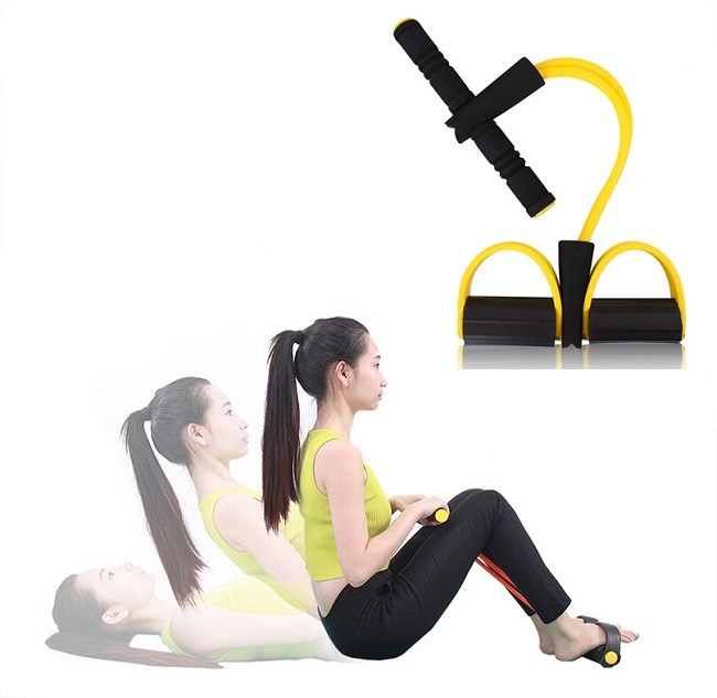Resistance Training Bands Pull up Body Trimmer Exercise Pedal Exerciser Fashion Body Crossfit Yoga Fitness Equipment For Women