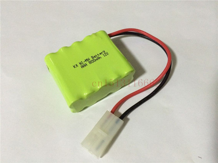1PCS/lot 100% Original Brand New KX Battery Pack 12V 800mAh AAA NIMH Rechargeable Battery With Plug Free Shipping(China (Mainland))