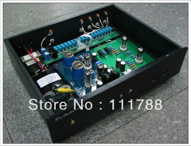 LITE Remote Version ---LS10 Vacuum tubes Preamp Base on AUDIO NOTE M7(China (Mainland))