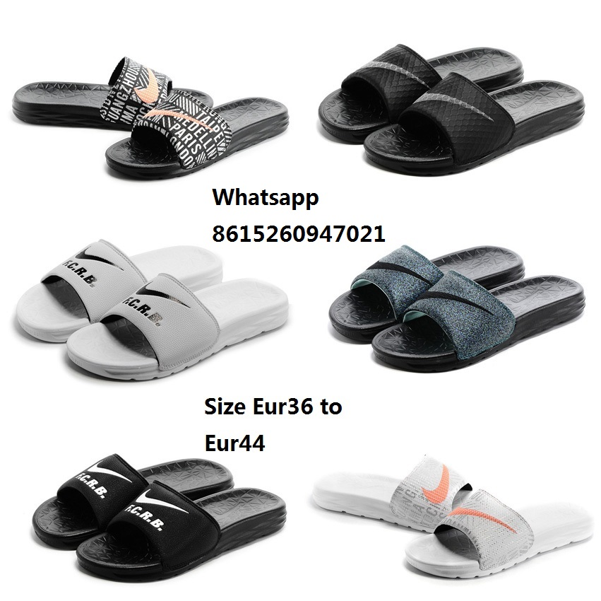 Free shipping new 2016 womens benassi sloarsoft slide sandal slipper shoes FCRB PARIS WHITE for sale with original box(China (Mainland))