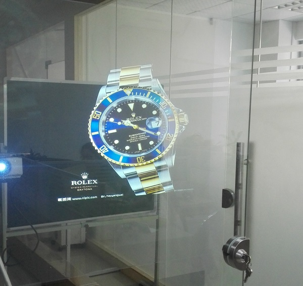 Holographic rear projection screen film,Transparent holographic rear projection film(China (Mainland))