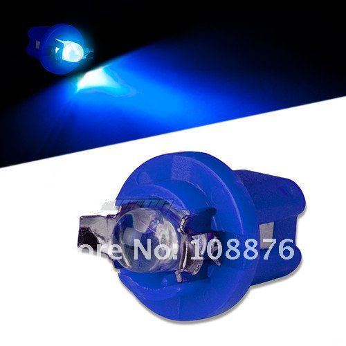 Free shipping! 10 x B8.5 F5 led bulb , white blue red green and yellow Automobile Instrument lights, map lights