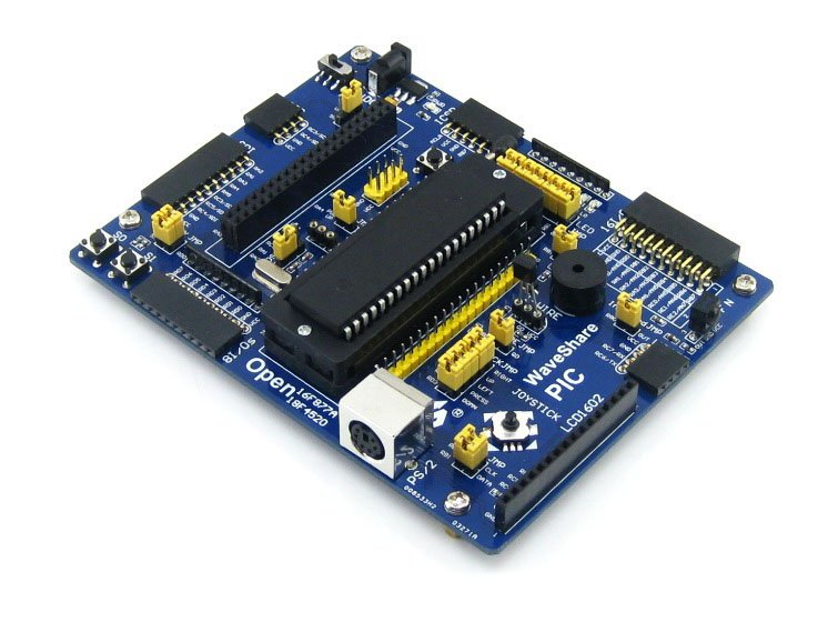 PIC Development Board PIC16F877A PIC16F877A-I/P PIC16F series 8-bit RISC PIC Microcontroller Development Board(China (Mainland))