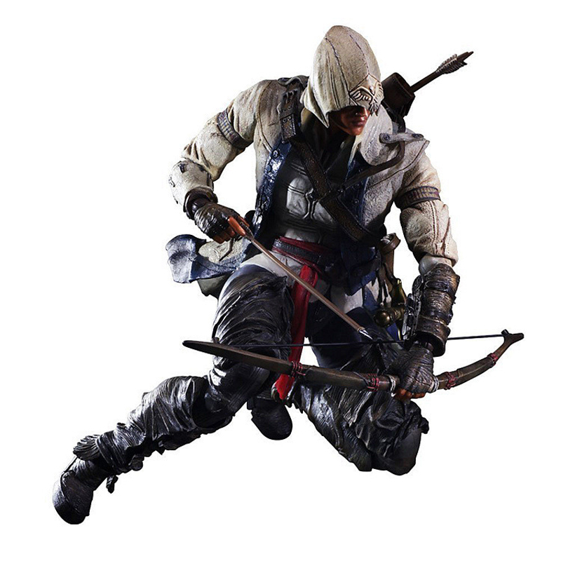Anime Game Movie Connor Kenway Assassin's Creed Variant speelgoed Action Figure Playarts figurine Toys Model Play arts Kai dolls()