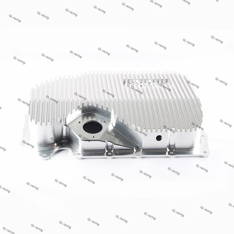 Aluminum heat sink oil pan sump similar to ALPHA style for Volkswagen GIT/Skoda/Sagitar 1.8T2.0T vw EA888 Engine<br><br>Aliexpress