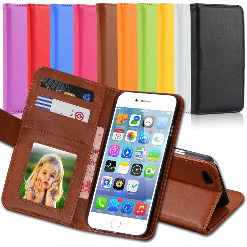 i5 Retro Luxury PU Leather Flip Capa Case For Apple iPhone 5C 5S 5G Wallet Card Photo Holder Cover Full Protect Cell Phone Bag(China (Mainland))