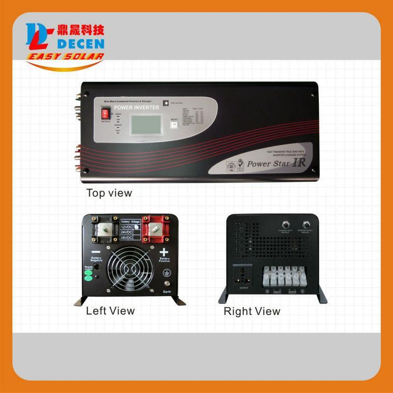 how to connect battery to inverter