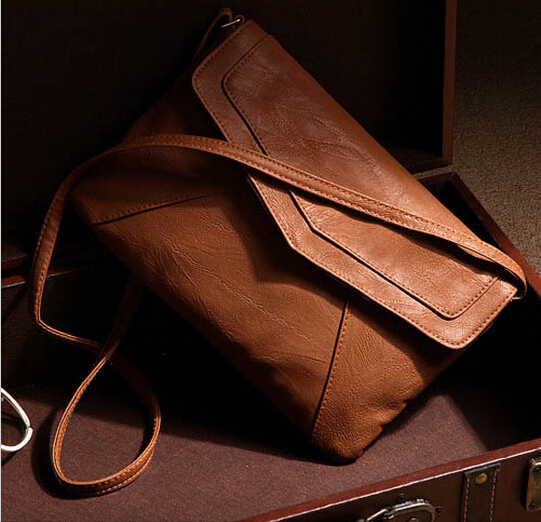 8 colors Envelope Bag Pu leather Women Handbag shoulder bags ladies vintage crossbody sling messenger bag Purses Bolsas satchels(China (Mainland))