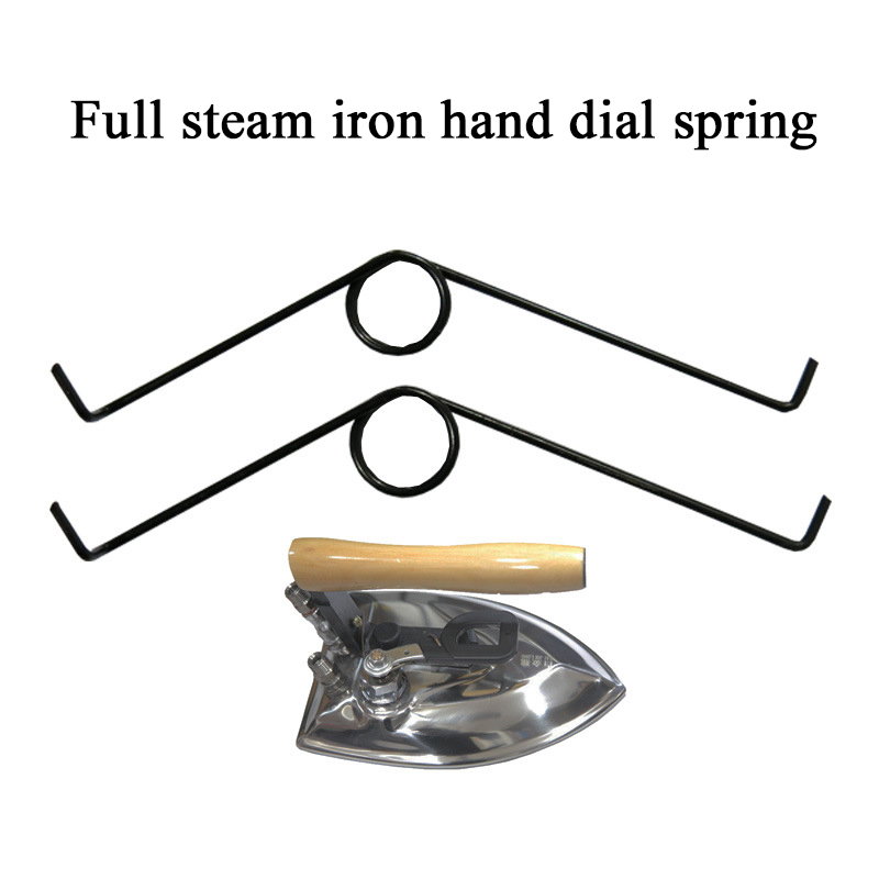2pcs Small Spring Hand Dial Type Full Steam Iron Accessories for Dry Cleaning Iron Parts Accessories(China (Mainland))