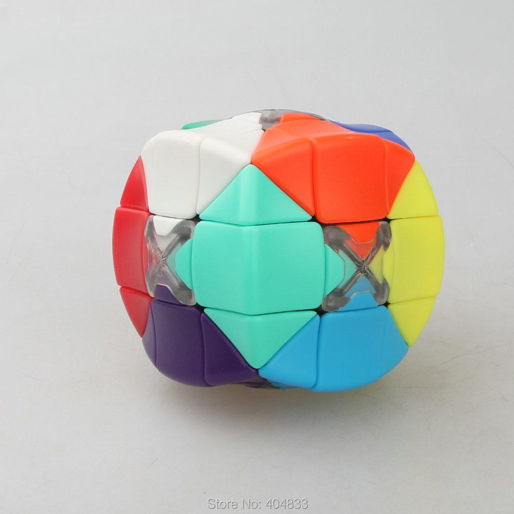 Armadillo Cube Qiu Yu Puzzle Stickerless Magic Cube Twsit Puzzle Educational Toy Free Shipping Drop Shipping(China (Mainland))