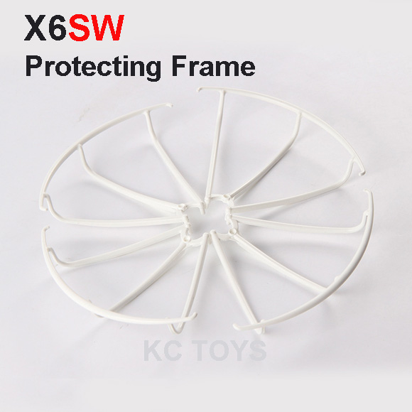 4pcs/lot x6sw Quadcopter Protecting frames RC quadcopter Accessories parts<br><br>Aliexpress