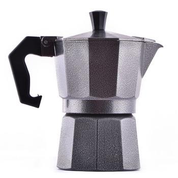 1 пк 3 чашки мэтт черный кофеварка эспрессо кофе горшок