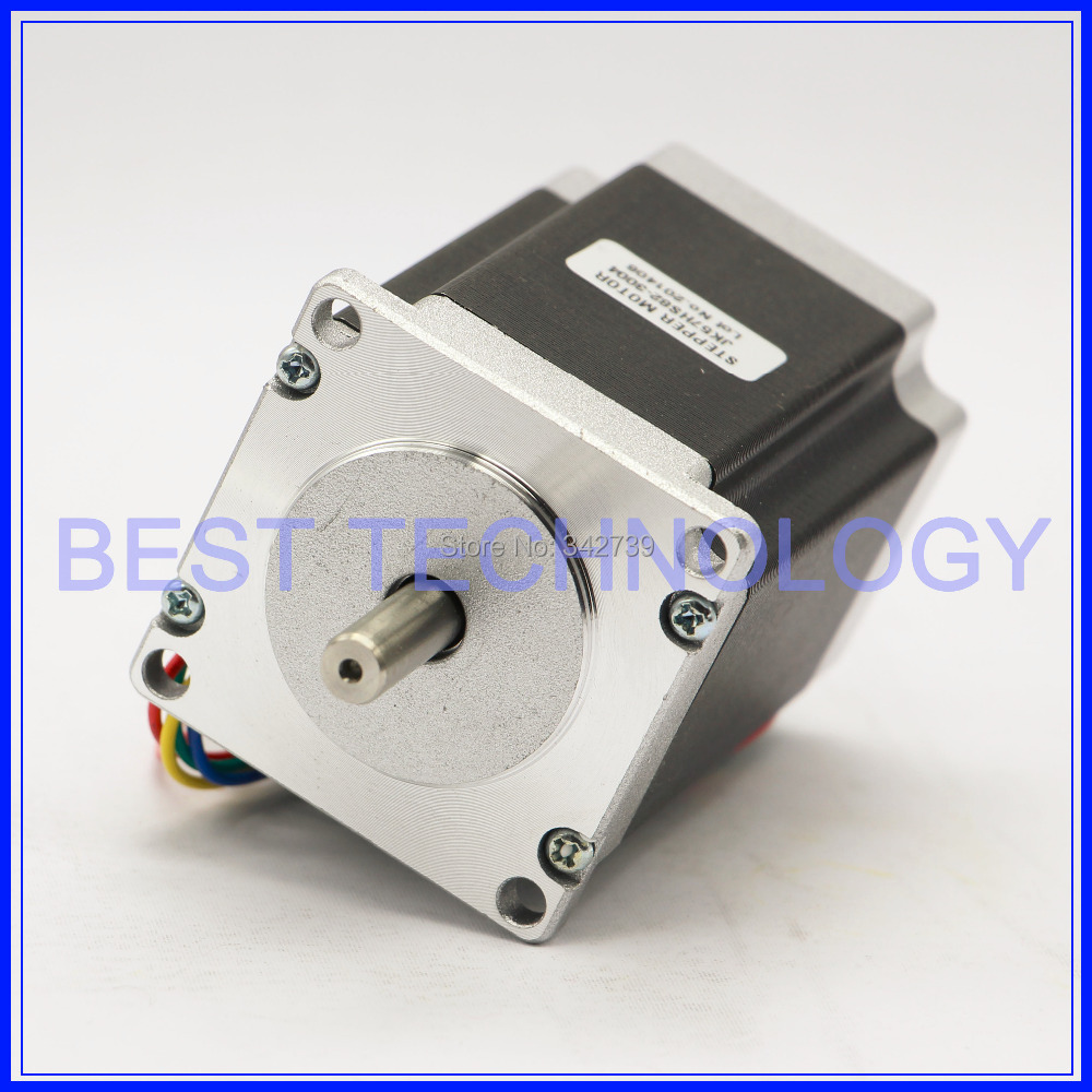 Nema 23 cnc stepper motor 57x84mm 3a 2 2n m 315oz in for for Best router motor for cnc