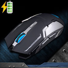 Buy Rechargeable Silent 2.4GHz Wireless 2400DPI 6 Buttons Gaming Mouse Cool Optical Usb Ergonomic Gamer Mouse PC Laptop New 2017 for $7.99 in AliExpress store